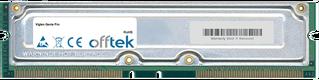 Genie Pro 1GB Kit (2x512MB Modules) - 184 Pin 2.5v 800Mhz Non-ECC RDRAM Rimm