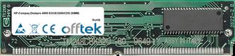 Deskpro 4000 6333X/3200/CDS (SIMM) 64MB Kit (2x32MB Modules) - 72 Pin 5v EDO Non-Parity Simm