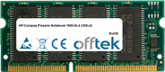 Presario Notebook 1800-XL4 (18XL4) 256MB Module - 144 Pin 3.3v PC133 SDRAM SoDimm