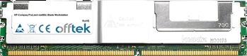 ProLiant xw460c Blade Workstation 16GB Kit (2x8GB Modules) - 240 Pin 1.8v DDR2 PC2-5300 ECC FB Dimm