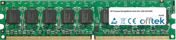 StorageWorks All-In-One 1200 (AiO1200) 512MB Module - 240 Pin 1.8v DDR2 PC2-5300 ECC Dimm (Single Rank)