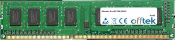 Area-51 7500 (DDR3) 2GB Module - 240 Pin 1.5v DDR3 PC3-8500 Non-ECC Dimm