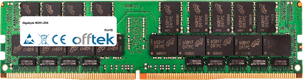 W291-Z00 128GB Module - 288 Pin 1.2v DDR4 PC4-23400 LRDIMM ECC Dimm Load Reduced