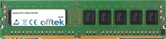 X570 I AORUS PRO WIFI 16GB Module - 288 Pin 1.2v DDR4 PC4-21300 ECC Dimm