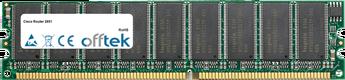 Router 2851 512MB Module - 184 Pin 2.5v DDR266 ECC Dimm
