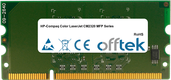 Color LaserJet CM2320 MFP Series 256MB Module - 144 Pin 1.8v DDR2 PC2-3200 SoDimm