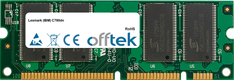 C780dn 512MB Module - 100 Pin 2.5v DDR PC2100 SoDimm