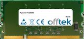 FS-2020D 1GB Module - 144 Pin 1.8v DDR2 PC2-5300 SoDimm