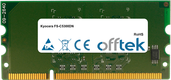 FS-C5300DN 1GB Module - 144 Pin 1.8v DDR2 PC2-5300 SoDimm