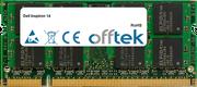 Inspiron 14 4GB Module - 200 Pin 1.8v DDR2 PC2-6400 SoDimm