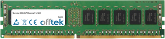 X470 Gaming Pro MAX 16GB Module - 288 Pin 1.2v DDR4 PC4-21300 ECC Dimm