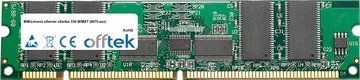 eServer xSeries 330 W/MXT (8675-xxx) 2GB Kit (2x1GB Modules) - 168 Pin 3.3v PC133 ECC Registered SDRAM Dimm