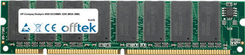 Deskpro 4000 6233MMX 3200 (MGA 2MB) 128MB Module - 168 Pin 3.3v PC66 SDRAM Dimm