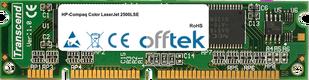 Color LaserJet 2500LSE 128MB Module - 100 Pin 3.3v SDRAM PC100 SoDimm