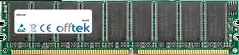 UL8 1GB Module - 184 Pin 2.6v DDR400 ECC Dimm (Dual Rank)