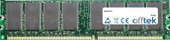 KV7-V 1GB Module - 184 Pin 2.6v DDR400 Non-ECC Dimm