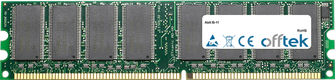 IS-11 1GB Module - 184 Pin 2.6v DDR400 Non-ECC Dimm