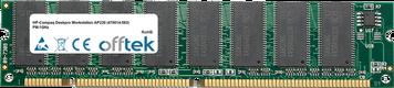 Deskpro Workstation AP230 (470014-563) PIII-1GHz 512MB Module - 168 Pin 3.3v PC133 SDRAM Dimm