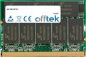 MP-XP741 512MB Module - 172 Pin 2.5v DDR333 Non-ECC MicroDimm