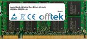 iMac 2.4GHz Intel Core 2 Duo - (20-inch) (800MHz) (MB323LL/A) 2GB Module - 200 Pin 1.8v DDR2 PC2-6400 SoDimm