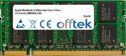 MacBook 2.2GHz Intel Core 2 Duo - (13.3-inch) (MB062LL/B) 2GB Module - 200 Pin 1.8v DDR2 PC2-5300 SoDimm