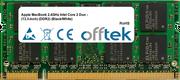 MacBook 2.4GHz Intel Core 2 Duo - (13.3-inch) (DDR2) (Black/White) 2GB Module - 200 Pin 1.8v DDR2 PC2-5300 SoDimm