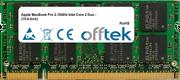MacBook Pro 2.16GHz Intel Core 2 Duo - (15.4-inch) 2GB Module - 200 Pin 1.8v DDR2 PC2-5300 SoDimm