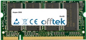 2000 1GB Module - 200 Pin 2.6v DDR PC400 SoDimm