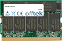 MP-XV841US 512MB Module - 172 Pin 2.5v DDR333 Non-ECC MicroDimm