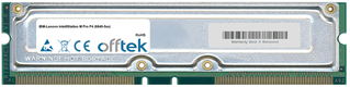 IntelliStation M Pro P4 (6849-5xx) 1GB Kit (2x512MB Modules) - 184 Pin 2.5v 800Mhz ECC RDRAM Rimm