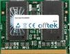 Vaio PCG-SRX99 256MB Module - 144 Pin 3.3v PC133 MicroDimm