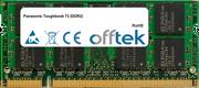 Toughbook 73 (DDR2) 1GB Module - 200 Pin 1.8v DDR2 PC2-5300 SoDimm