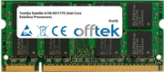 Satellite A100-S8111TD (Intel Core Solo/Duo Processors) 2GB Module - 200 Pin 1.8v DDR2 PC2-5300 SoDimm
