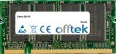 D611S 512MB Module - 200 Pin 2.5v DDR PC266 SoDimm