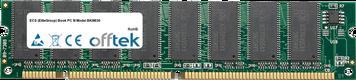 Book PC III Model BKIII630 512MB Module - 168 Pin 3.3v PC133 SDRAM Dimm