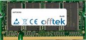 D410U 512MB Module - 200 Pin 2.5v DDR PC333 SoDimm