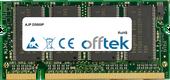 256MB Module - 200 Pin 2.6v DDR PC400 SoDimm