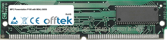 Powerstation P100 with M54Li BIOS 64MB Kit (2x32MB Modules) - 72 Pin 5v EDO Non-Parity Simm