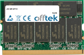 256MB Module - 172 Pin 2.5v DDR266 Non-ECC MicroDimm