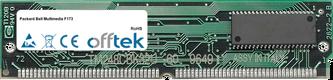 Multimedia F173 64MB Kit (2x32MB Modules) - 72 Pin 5v EDO Non-Parity Simm