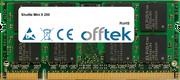 Mini X 200 1GB Module - 200 Pin 1.8v DDR2 PC2-5300 SoDimm