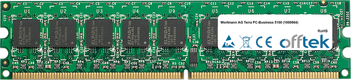 Terra PC-Business 5100 (1000864) 2GB Module - 240 Pin 1.8v DDR2 PC2-5300 ECC Dimm (Dual Rank)