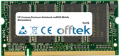 Business Notebook nw8000 (Mobile Workstation) 1GB Module - 200 Pin 2.5v DDR PC333 SoDimm