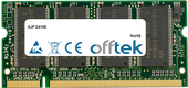 D410E 512MB Module - 200 Pin 2.5v DDR PC266 SoDimm