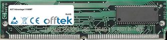 Advantage! 5166MT 64MB Kit (2x32MB Modules) - 72 Pin 5v EDO Non-Parity Simm