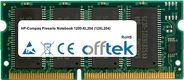 Presario Notebook 1200-XL204 (12XL204) 128MB Module - 144 Pin 3.3v PC100 SDRAM SoDimm