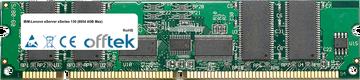 eServer xSeries 130 (8654 4GB Max) 1GB Module - 168 Pin 3.3v PC133 ECC Registered SDRAM Dimm