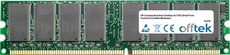 Business Desktop dc7100 (Small Form Factor/Convertible Minitower) 1GB Module - 184 Pin 2.6v DDR400 Non-ECC Dimm
