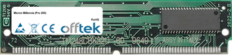 Millennia (Pro 200) 64MB Kit (2x32MB Modules) - 72 Pin 5v EDO Non-Parity Simm