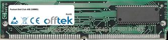 Club 40B (SIMMS) 64MB Kit (2x32MB Modules) - 72 Pin 5v EDO Non-Parity Simm